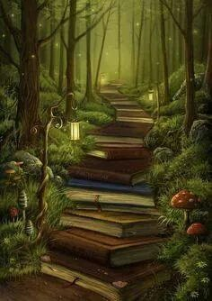 path of books